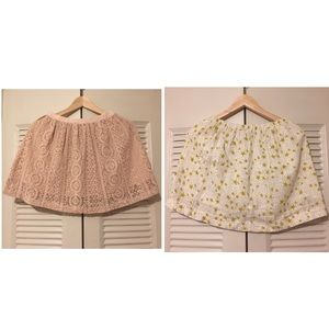Bundle Zara Cute Mini Skirts for Big Girls 13/14